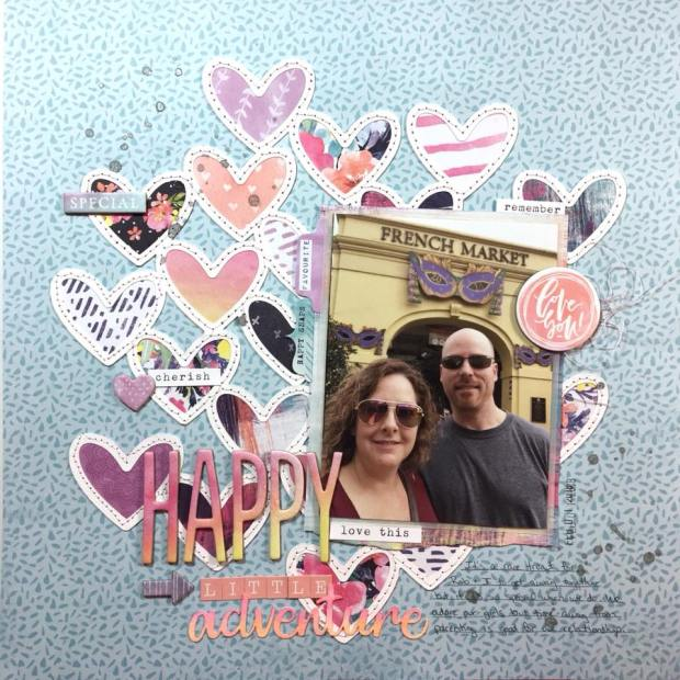 Julie Pfund Scrap and Stitch Challenge